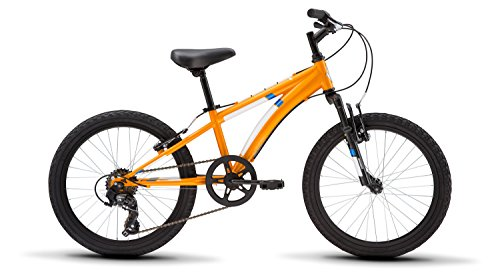 Diamondback Bicycles Cobra 20 Youth 20' Wheel Mountain Bike, Orange