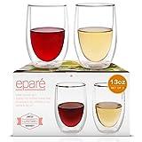 Eparé Wine Glasses - 13oz Set of 2...