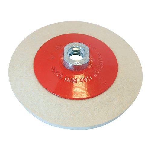 Silverline 105864 Ruota in feltro conica per lucidatura 115 mm