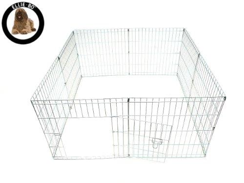 Ellie-Bo Easy-up Cucciolo di Coniglio Box, 61 cm, Argento, 8 Pezzi