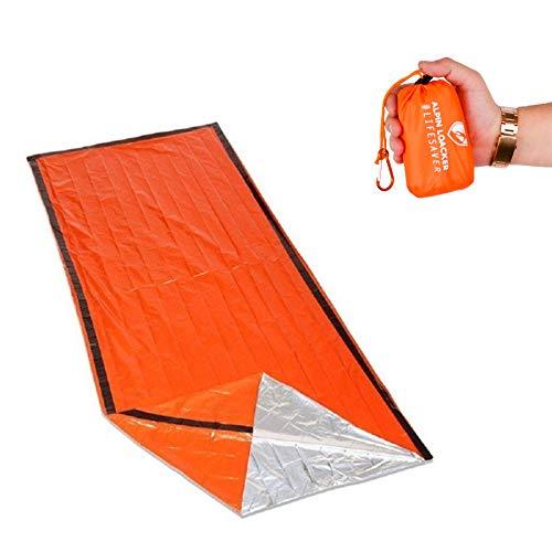 ALPIN LOACKER | Life Saver Pro | Rettungsdecke, Biwaksack, Notfalldecke für Outdoor und Bergsport