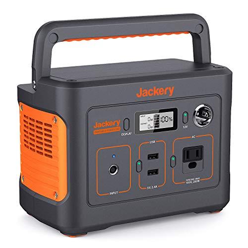 Jackery ポータブル電源 240 大容量67200mAh/240Wh 家庭アウトドア両用バックアップ電源 小型軽量 PSE認証...