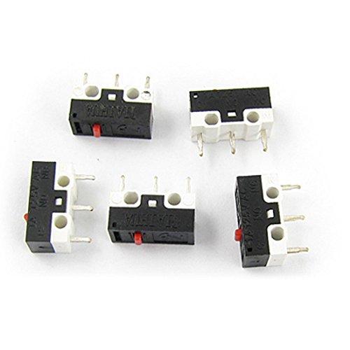 Nome Prodotto : Micro Interruttore; materiale : Plastica, Metallo;Modello : WD-007 Carico stimato: AC 125V 1A; Resistenza di contatto: 0.02 Ohm; Resistenza di isolamento: 100M Ohm Forza agente: 60-100; Withstand Voltage: AC 250V (50Hz) / min; Durata ...