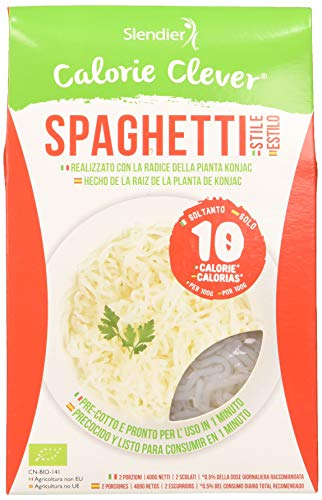 Pasta Konjac Espaguetis sin gluten - pasta hipocalórica - S