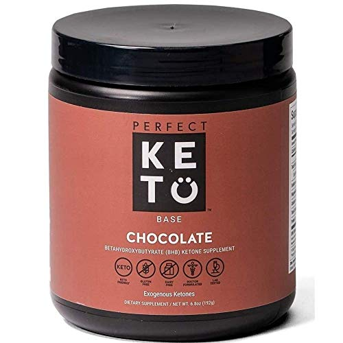 Exogenous Ketones Powder, BHB Beta-Hydroxybutyrate Salts Supplement, Best Fuel for Energy Boost, Mental Performance, Mix in Shakes, Milk, Smoothie Drinks for Ketosis – New Chocolate, 9.0 oz (255 grs) 1