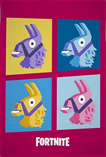 Epic Games Manta Polar Infantil Fortnite Lama Motif Label Oeko-Tex