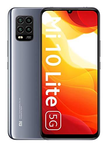 Xiaomi Mi 10 Lite 5G Smartphone 6GB 128GB 6.57'' AMOLED 48MP Quad-caméra 4160mAh (Typical) NFC Gris...
