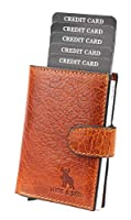 Durable Material: This Functional Card Holder Has Been Constructed Using Durable Grain Leather To Ensure Enduring Service .Its Utility Is Further Enhanced Due To The Durable Cloth Inner Lining.The Unique Thing About This Card Case Is That It Is Made ...
