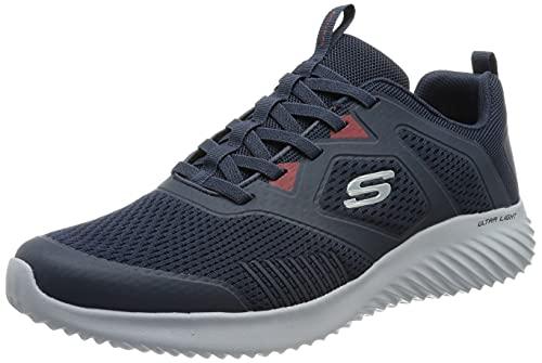 Skechers Bounder, Zapatillas Hombre, Azul (Navy), 45 EU