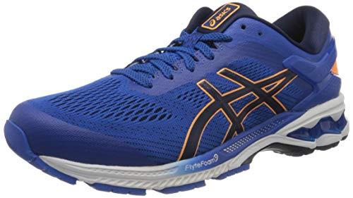 ASICS Men's Gel-Kayano 26 Tuna Blue/Peacoat Running Shoe (1011A541.402)