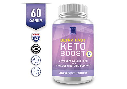 Ultra Fast Keto Boost - Keto Booster- Double Dragon Organics (60 Caps / 800MG) 3