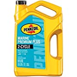 Pennzoil Marine Premium Plus Outboard 2 Cycle Oil, 1 Gallon - Pack of 1