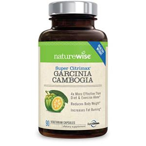 NatureWise Clinically Proven Super CitriMax Garcinia Cambogia with 4x Greater Fat Burning & Weight Loss Plus Appetite… 6 - My Weight Loss Today