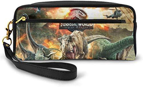 astucci e set per la scuola Jurassic-World-Fallen Unisex Children's Pencil Case Pen Box Zipper...