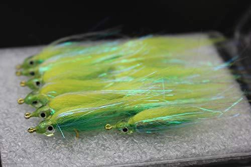 Tigofly - Set di 12 Esche a Mosca per Pesca a Mosca in 6 Colori Brillanti, per salmoni, trote, pesciolini, trote, pesciolini, Misura #8, Lyndee