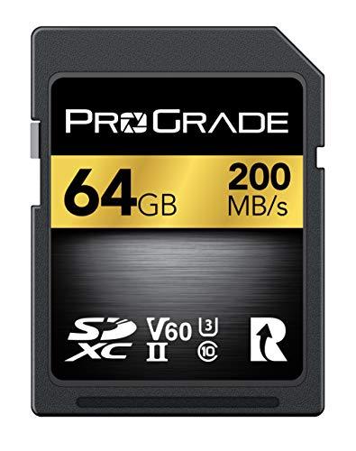 ProGradeデジタルSDXC uhs-iiメモリカード 256GB