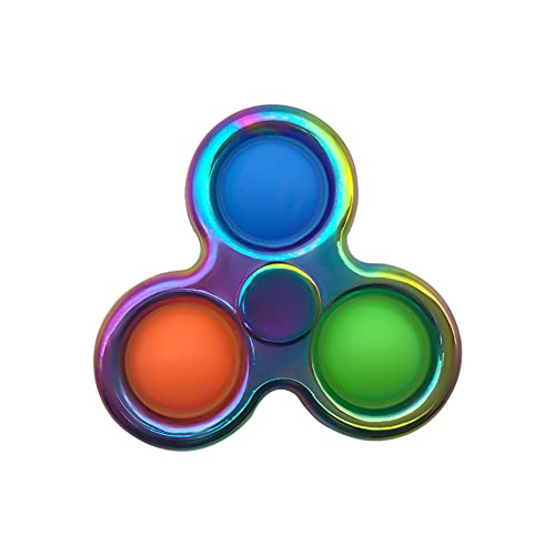 Pure Compression Popping Up Bubble Fidget Sensory Spinner...