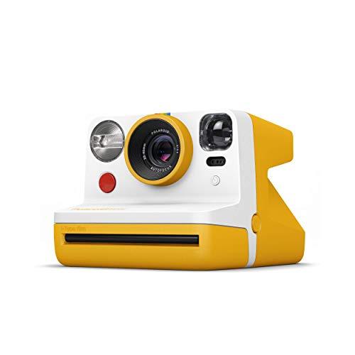 Polaroid インスタントカメラ Polaroid Now イエロー i-Type/600フィルム使用 ビューファインダー搭載 9031 【国内正規品】