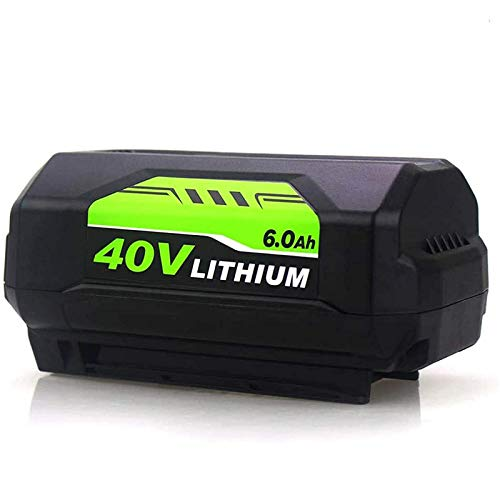 1 Pack 6.0Ah OP4026 40 Volt Replacement Battery Compatible with Ryobi 40V Lithium ion Battery OP4050A OP40601