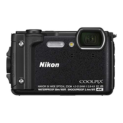 Nikon デジタルカメラ COOLPIX W300 BK クールピクス ブラック 防水