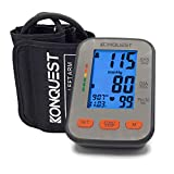 Konquest KBP-2704A Automatic Upper Arm Blood Pressure Monitor - Accurate, Adjustable Cuff, Large...