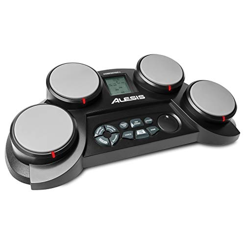 Alesis Ultra-Portable Electronic 4 Tabletop Kit with...