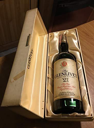 Glenlivet 21yo old bottle 80's con astuccio 75cl