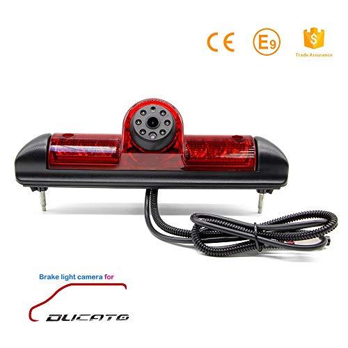 Telecamera per la retromarcia specifico per senza forare semplice scambio con il terzo fanalino posteriore con la retrocamera per Fiat Ducato Citroen Relay Citroen Jumper Peugeot Boxer 06-19