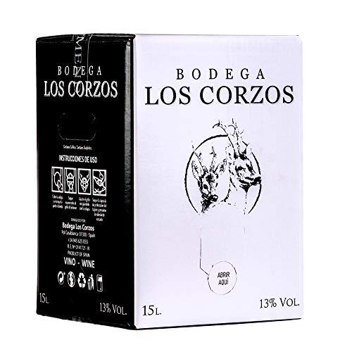 Bag in Box 15L Vino Tinto Recomendado (Equivalente a 20 Bote