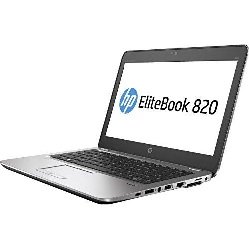 HP EliteBook 820 G3 Business Laptop - 12.5 inches IPS anti-glare FHD (1920x1080) | Intel i7-6600U | 256GB SSD | 8GB DDR4 | Backlit | Fingerprint | NFC | Windows 10 Professional (Renewed)