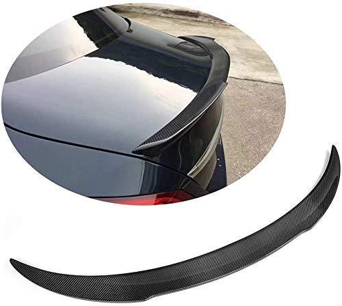 QTCD Trunk Spoiler Suitable For Mercedes Benz C Class W205 C205 Coupé 2015-2018 C180 C200 C250 C300 C400 C43 C63 Amg 2Door Auto Carbon Fiber Cf Tailgate Lid Highkick Wing Lip