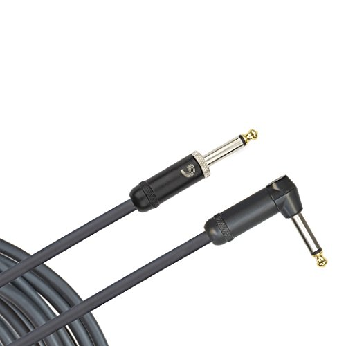 Planet Waves American Stage Instrument Cable, Right Angle, 10 feet