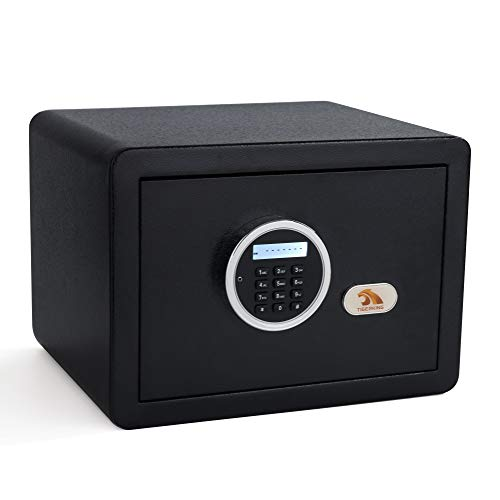 TIGERKING Digital Security Safe Box Fashion Black