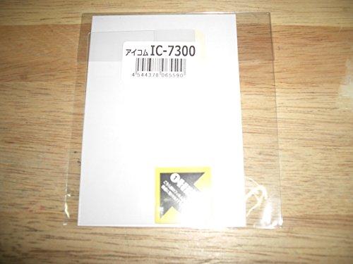 SPF-IC7300/R8600/9700/705 CQオームオリジナル液晶保護シート【対応】 IC-7300/IC-R8600/IC-9700/IC-705