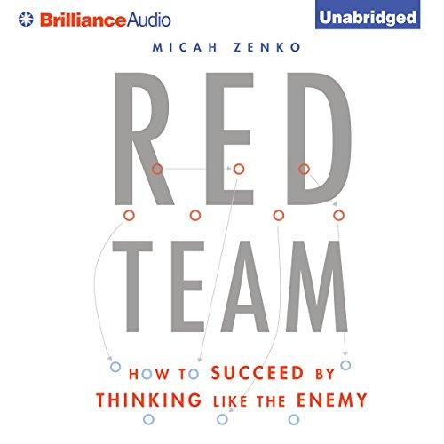 Red Team Audiobook By Micah Zenko cover art
