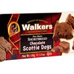 Walkers Shortbread Chocolate Scottie Dogs Shortbread, 3.9 oz.