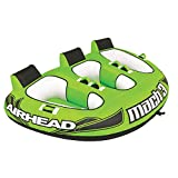 Airhead AHM3-1 Mach 3 | 1-3 Rider Towable Tube for Boating,...