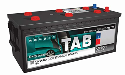 Batería Solar 250Ah / 12V TAB Motion Baterias para una descarga...