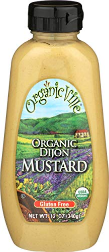 Organicville, Mustard Dijon Organic, 12 Ounce