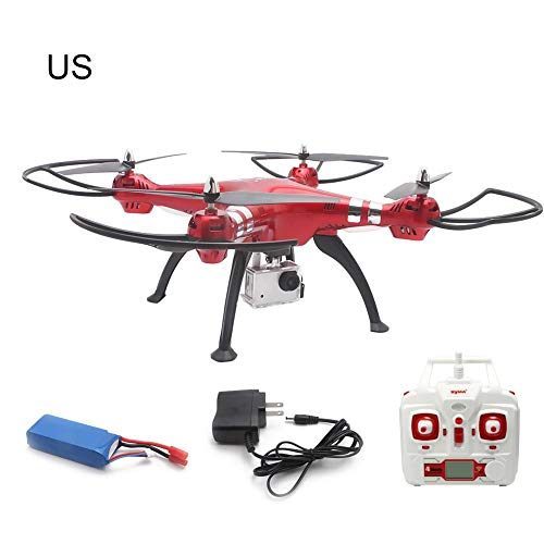 Per Syma X8HG con modalit fotocamera 8MP HD Hold Altitude 2.4G 4CH 6Axis RC Per Syma X8HG 8.0MP 2.4Ghz 6 assi Gyro RC Quadcopter Drone Camera RTF US/EU Plug