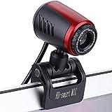 HD Webcam, 1080P HD Webcam USB PC Webcam Cam, Webcam USB Horizontal à 360 ° de...