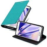 Cadorabo Coque pour Samsung Galaxy S5 Mini / S5 Mini DUOS en Turquoise PÉTROLE...