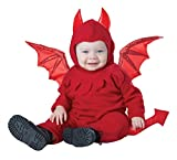 California Costumes Baby Lil' Devil Infant, red, 12 to 18 Months