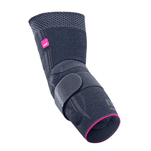 medi Epicomed - Ellenbogenbandage   silber   Größe IV   Kompressionsbandage zur Stabilisierung des Gelenks bei Tennisarm oder Golferarm   Beidseitig tragbar