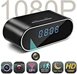 Spy Camera MCSTREE Hidden Camera in Clock WiFi Hidden Cameras 1080P Video Recorder Wireless IP Camera for Indoor Home Security Monitoring Nanny Cam 140 Angle Night Vision Motion Detection