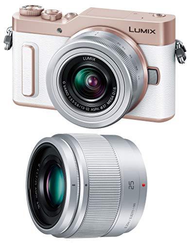 パナソニック ミラーレス一眼カメラ ルミックス GF10 ダブルレンズキット 標準ズームレンズ/単焦点レンズ付属 ホワイト DC-GF10W-W