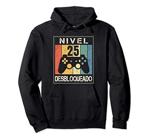 Nivel 25 Desbloqueado Gamer 25 Años 1996 Divertido Chico Su