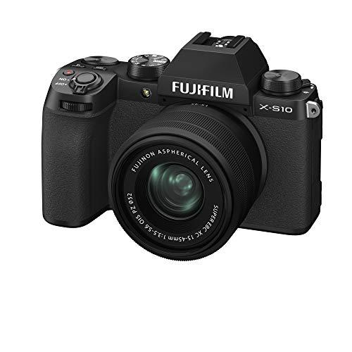 FUJIFILM ミラーレスデジタルカメラ X-S10 レンズキット(XC15-45) F X-S10LK-1545 ブラック 16670106