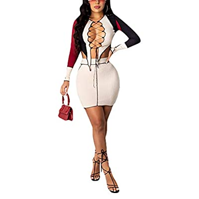 Material: Women 2 piece outfits dress, Made of polyester, soft and comfortable to wear. Two piece outfits crop top and skirt set, skirt sets women 2 piece outfits. Feature: Specially designed to hug your body and enhance your curves. Long Sleeve holl...