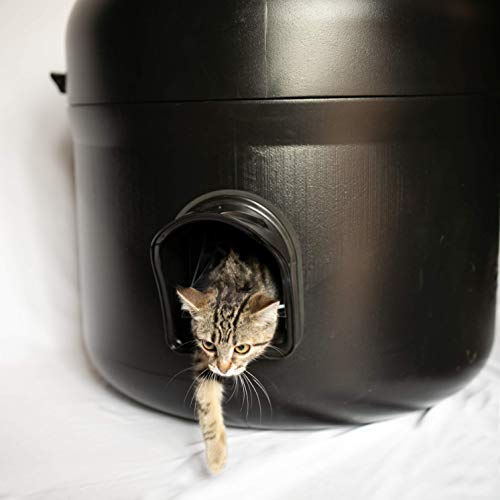 The Kitty Tube with Pillow - Outdoor Insulated Cat House - New Gen 4 Design